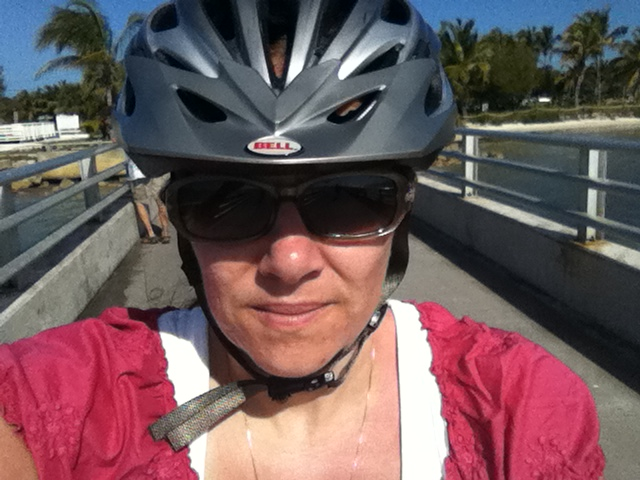 ScrappinMichele Biking in Key West