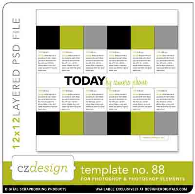 Cathy zielske Layered Template 88