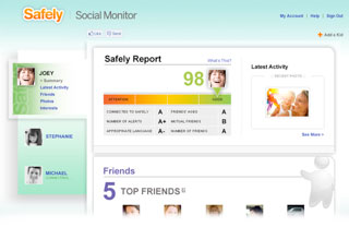 Safely Social Monitor Increases Parents Awareness Of Child's Activity On Facebook