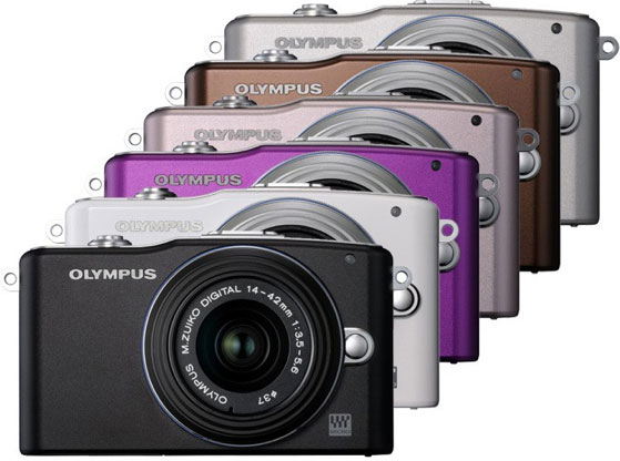 Olympus Digital PEN E-PM1 Camera and The PEN READY Project