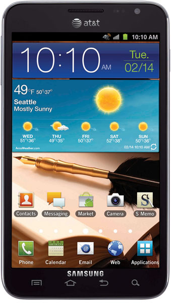 Samsung Galaxy Note AT&T CES 2012