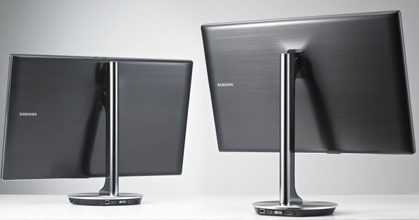 Samsung series 9 LED Monitor Back