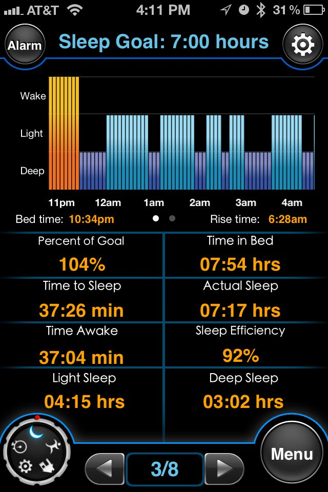 Daily Geek Find; Tracking Your Sleep With An App