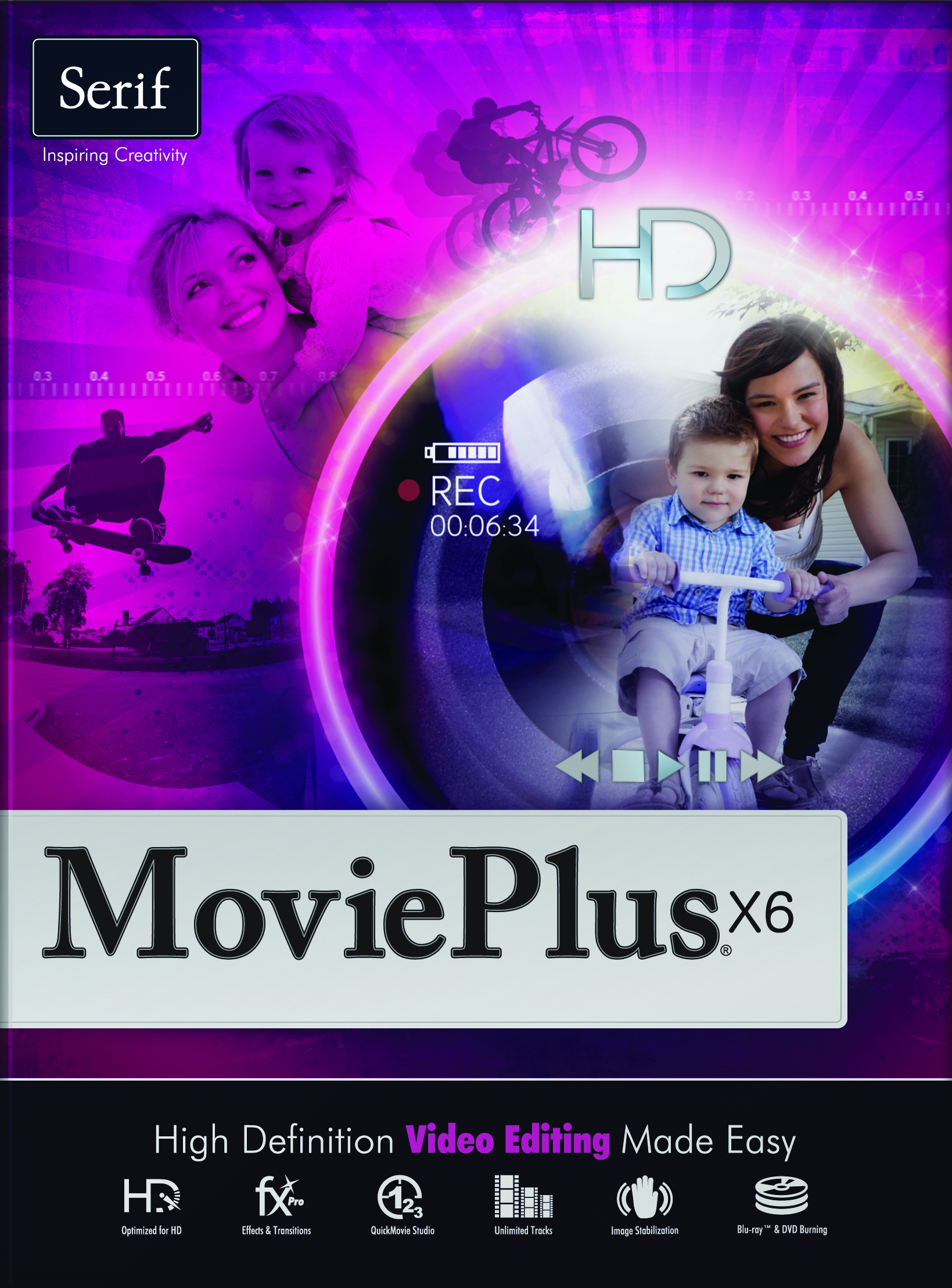 how to use movieplus x6