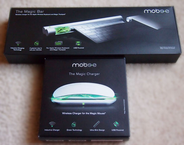 Mobee Does Magic With Your Magic Mouse, Apple Keyboard & Trackpad
