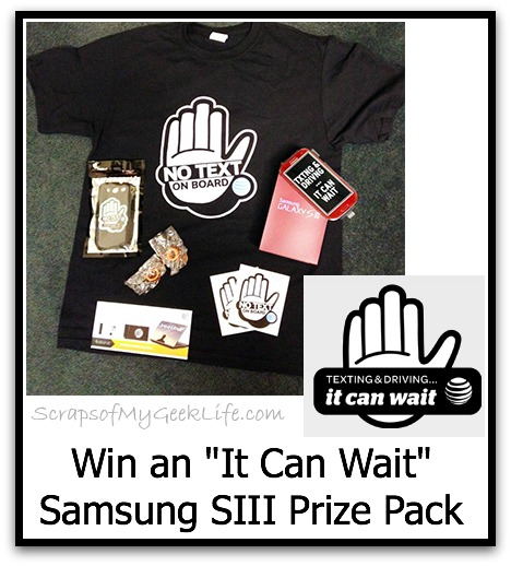 It Can Wait Giveaway