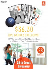"""28 to Great"" Bundle by barre3 Awesome Deal on QVC 9/7 #Ad"