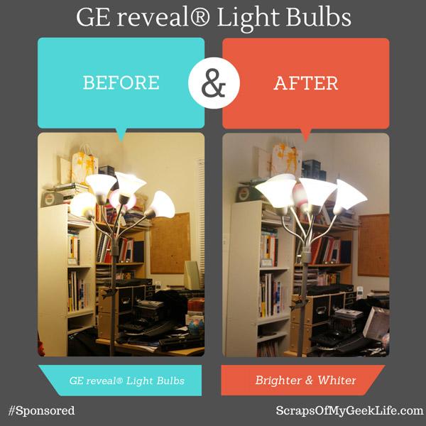 Ge Reveal 174 Light Bulbs Made My House Brighter Sponsored