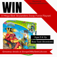 Mega Bloks Skylanders SWAP Force™ Boss Tank Showdown [Sponsored] #SkylandersSWAPForce #Giveaway