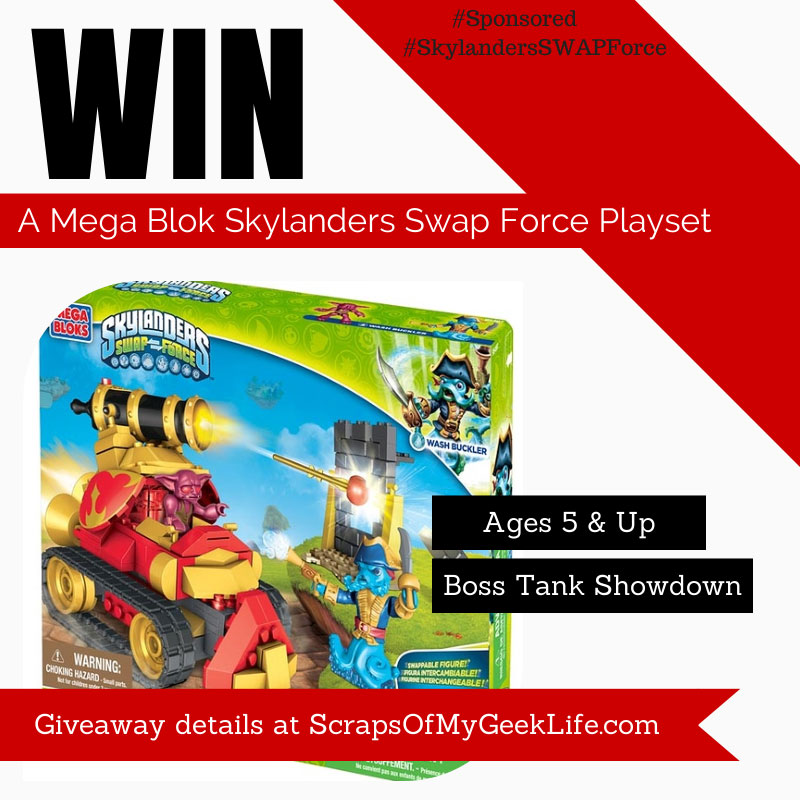 Mega Bloks Skylanders SWAP Force™ Boss Tank Showdown [Sponsored] #SkylandersSWAPForce