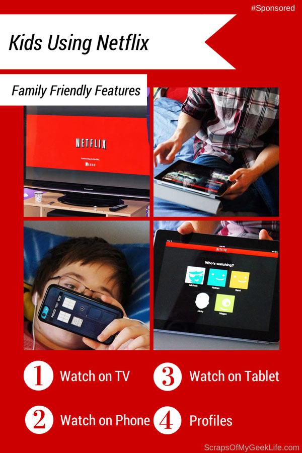 My Kids Use Netflix Everyday (Improved Family Features) #NetflixKids [Sponsored]