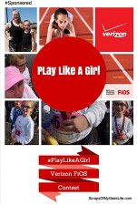 Teach Your Daughters To Play LIke A Girl #PlayLikeAGirl #FiOSFootballGirl [Sponsored]