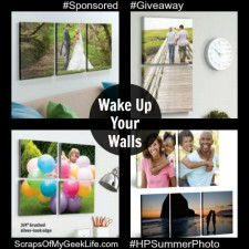 Wake Up Your Walls With Photos $50 Walmart Gift Card #HPSummerPhotoFun