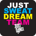 Just Sweat Dream Team Just Dance logo