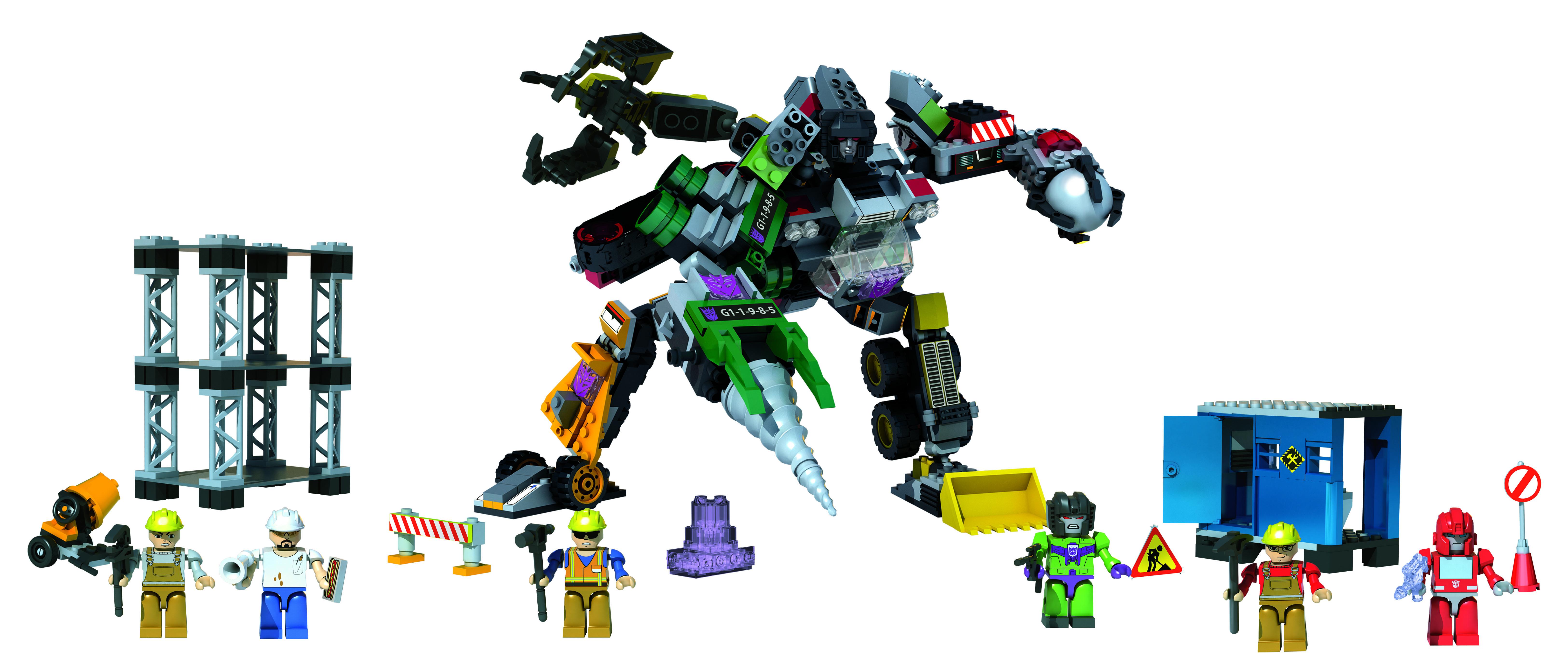 Kreo Transformers Decepticon Replicator Playset Build ...