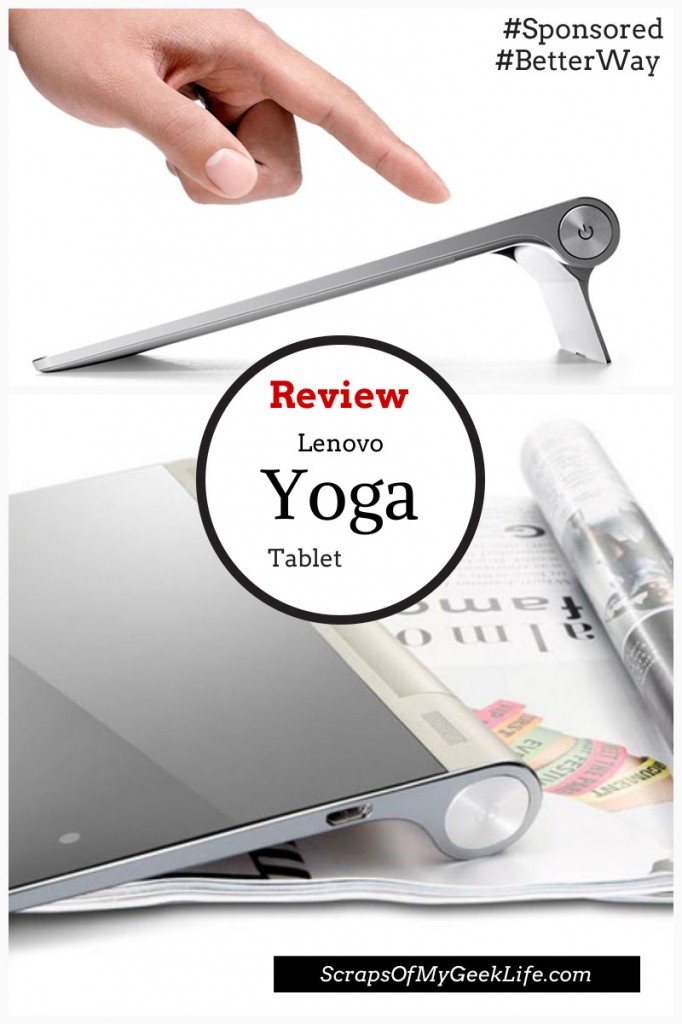 Lenovo Yoga Tablet #BetterWay