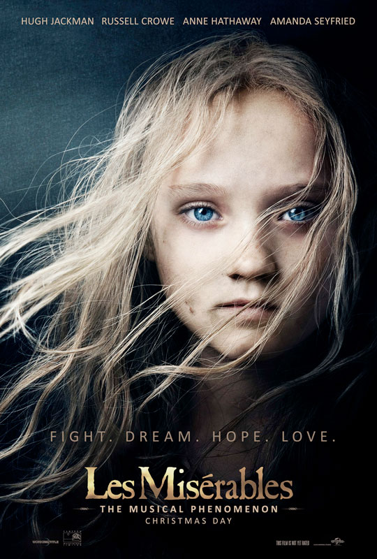 Les Misérables Movie Trailer #LesMis