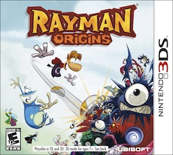 Rayman Origins for Nintendo 3DS Review #UbiRaymanO
