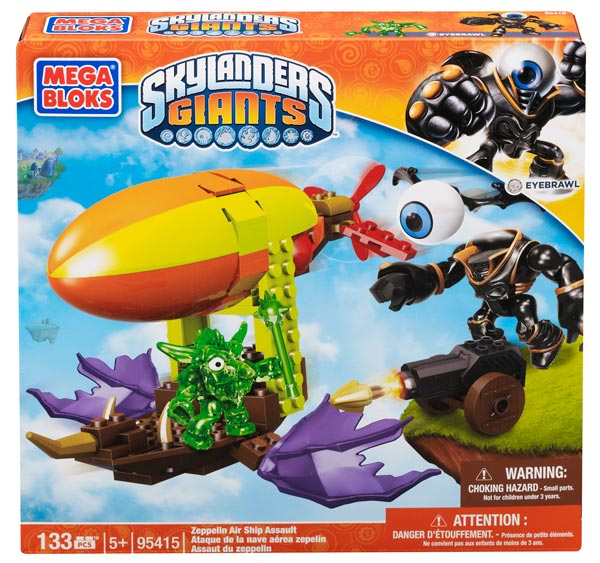 Mega Bloks® Skylanders Giants™ Zeppelin Air Ship Assault
