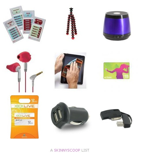 Tech Stocking Stuffers Gift Guide for 2012