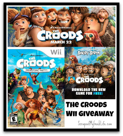 The Croods Wii Giveaway