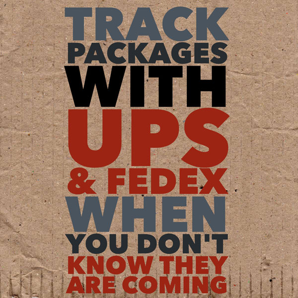 track packages from UPS