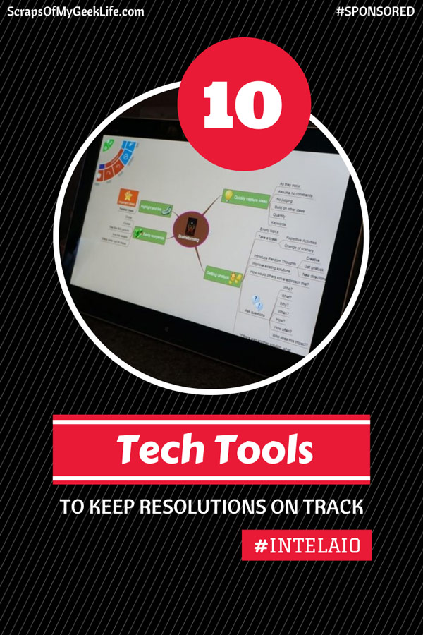 Keep Resolutions on Track Using Your Windows Computer #IntelAIO [Sponsored]