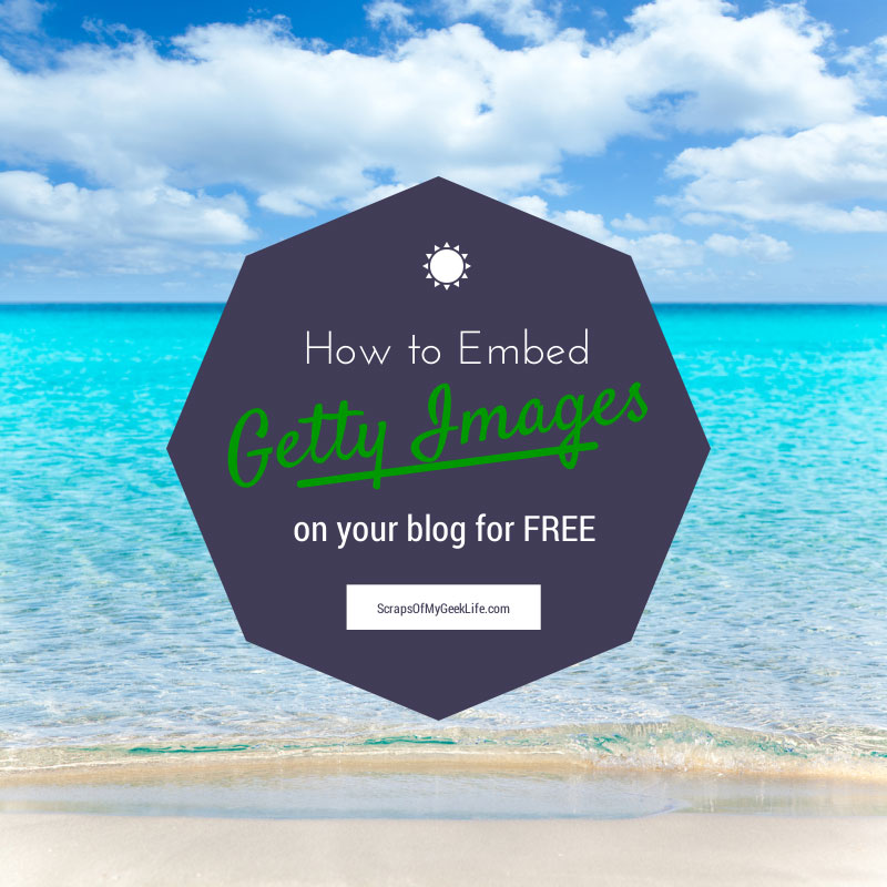 How to embed getty images for free