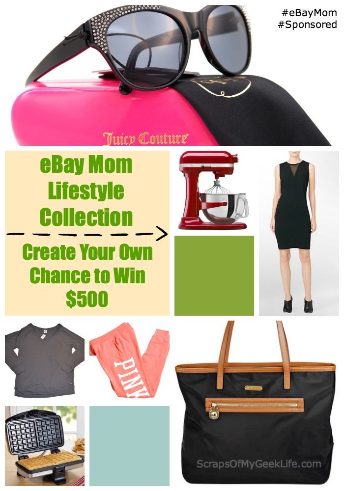 Create #eBayMom Collection for Chance to Win $500 #Ad