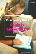 Discovery Girls Guide to Growing Up for Tween Girls #Giveaway