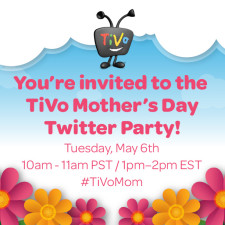 TiVo Mother's Day Twitter Party With Roamio #Giveaway #TiVoMom #Ad