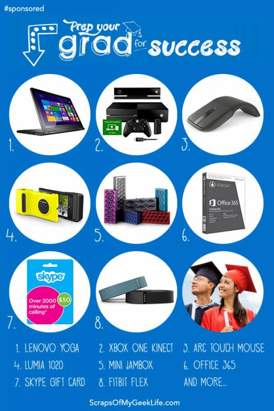 Tech Gift Guide for Grads #SmartHappensHere
