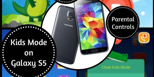 Samsung Galaxy S5 Kids Mode; Keep Your Kids Away From Your Apps