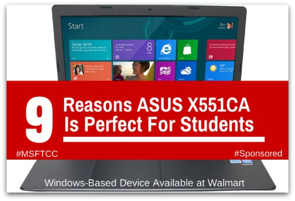 ASUS X551 Laptop for Students #MSFTCC #BacktoSchool