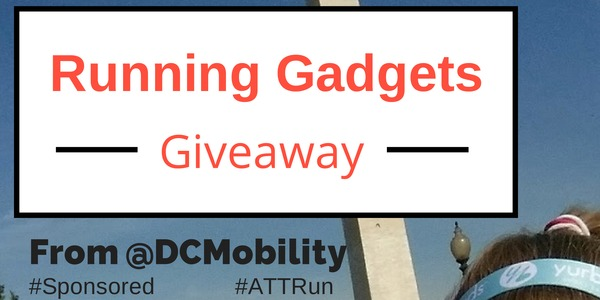 Running gadget #giveaway from @DCMobility and @ScrappinMichele in honor of my half marathon #ATTRun