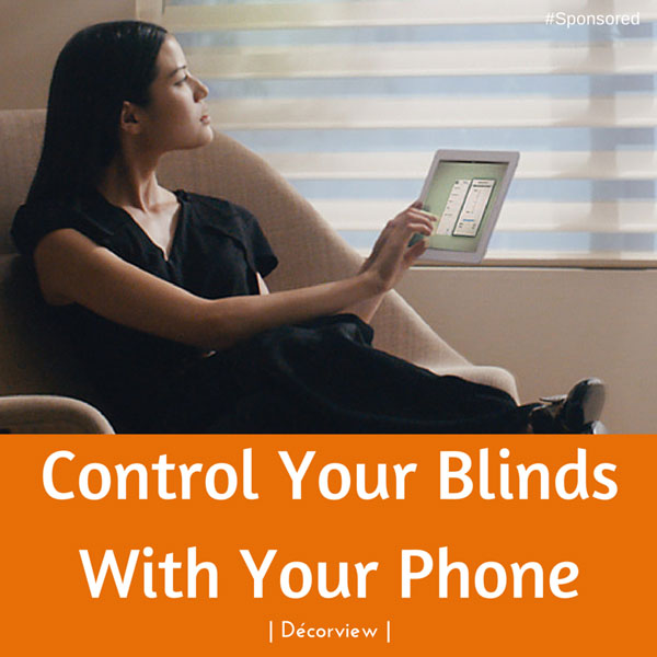 Control Your Window Blinds With Your Phone #decorview