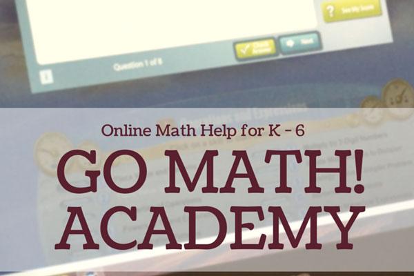 Go Math! Academy Offers Online Math Help for K – 6 #HMHAcademy