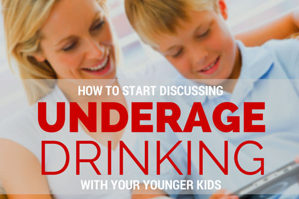 How to Talk to Your Younger Kids About Underage Drinking #GrabTheGoodies
