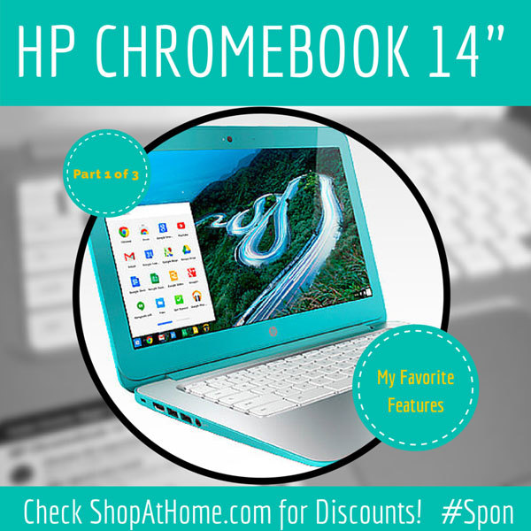 HP Chromebook 14-q020nr boots in seconds when open; discounts at Shopathome.com