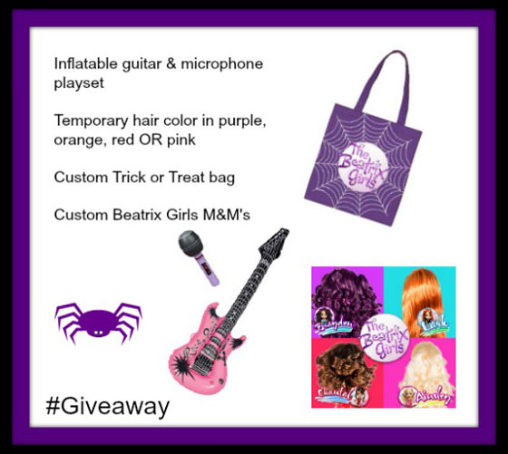 The Beatrix Girls Dolls are a Pop-Star Band With Real Music #Giveaway