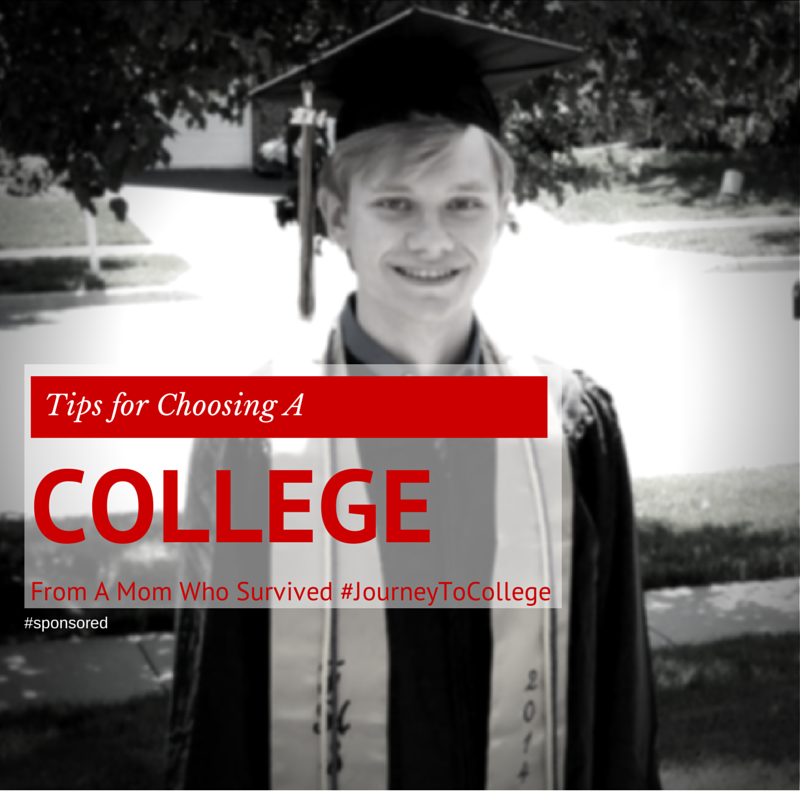 Tips For Choosing A College From A Mom Who Survived #JourneytoCollege
