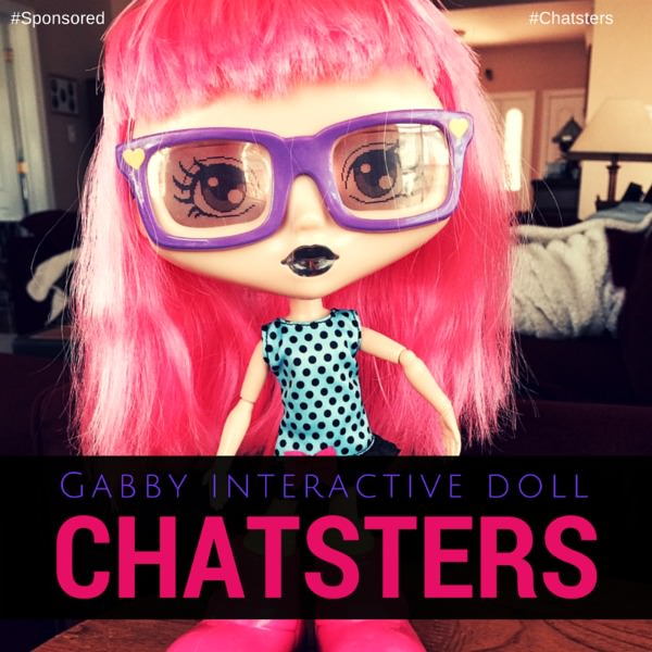 Gabby, An Interactive BFF Doll With 'Tude for Tech Savvy Girls #Chatsters