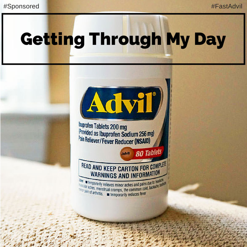 Getting Through My Day Without Thinking About My Pain #FastAdvil #Spon