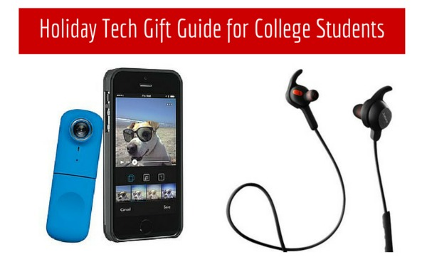 Holiday Tech Gift Guide for College Students
