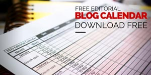 2015 printable free editorial calendar template