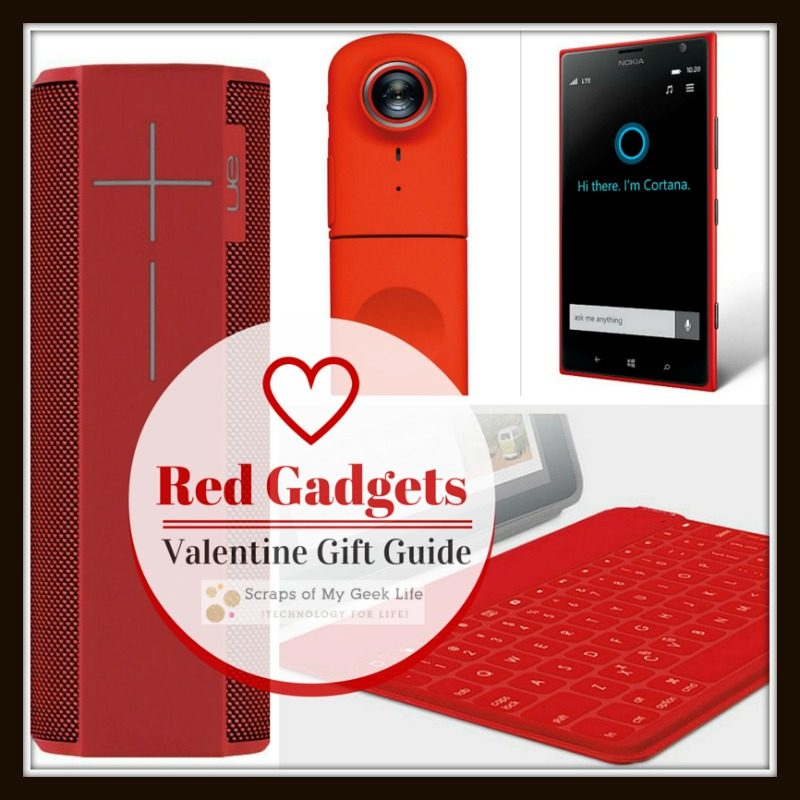 Red Gadgets Valentine's Day Gift Guide