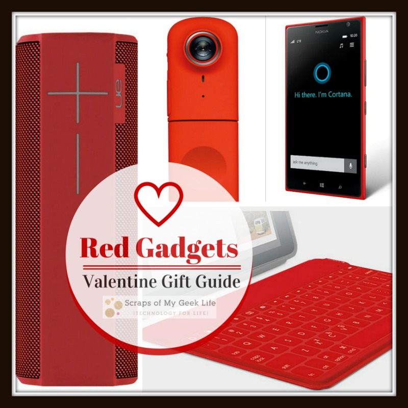 Red Gadgets Valentine Gift Guide; If your Valentine prefers gadgets over gold, then this gift guide is for you. #GiftGuide #ValentinesDay