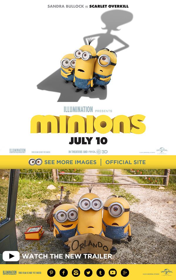 New Minions Movie Coming in the Summer