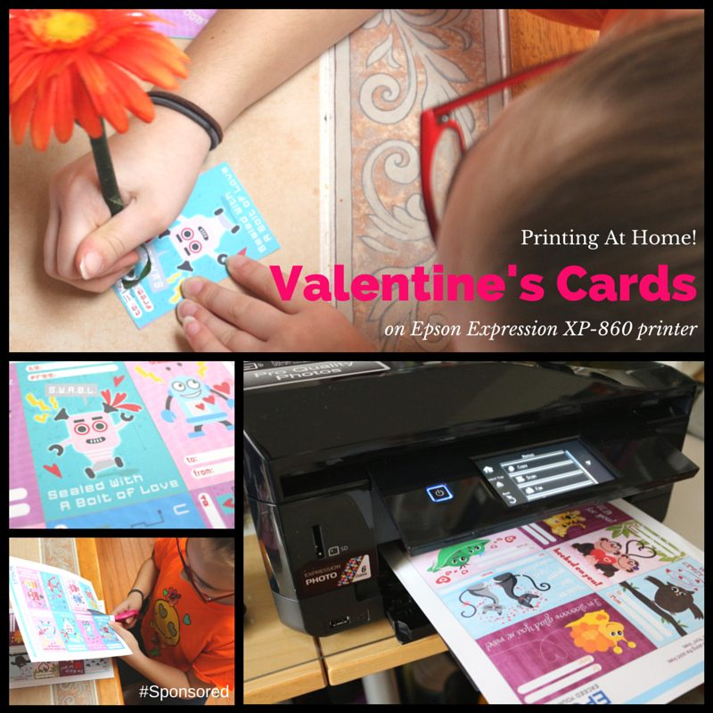 Print Valentine's Day Cards At Home For The Classroom