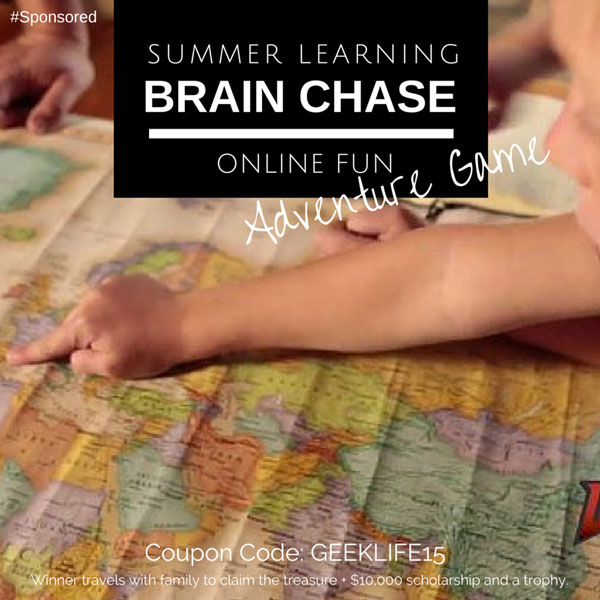 Brain Chase; Online Summer Learning Adventure With Coupon Code #BrainChase